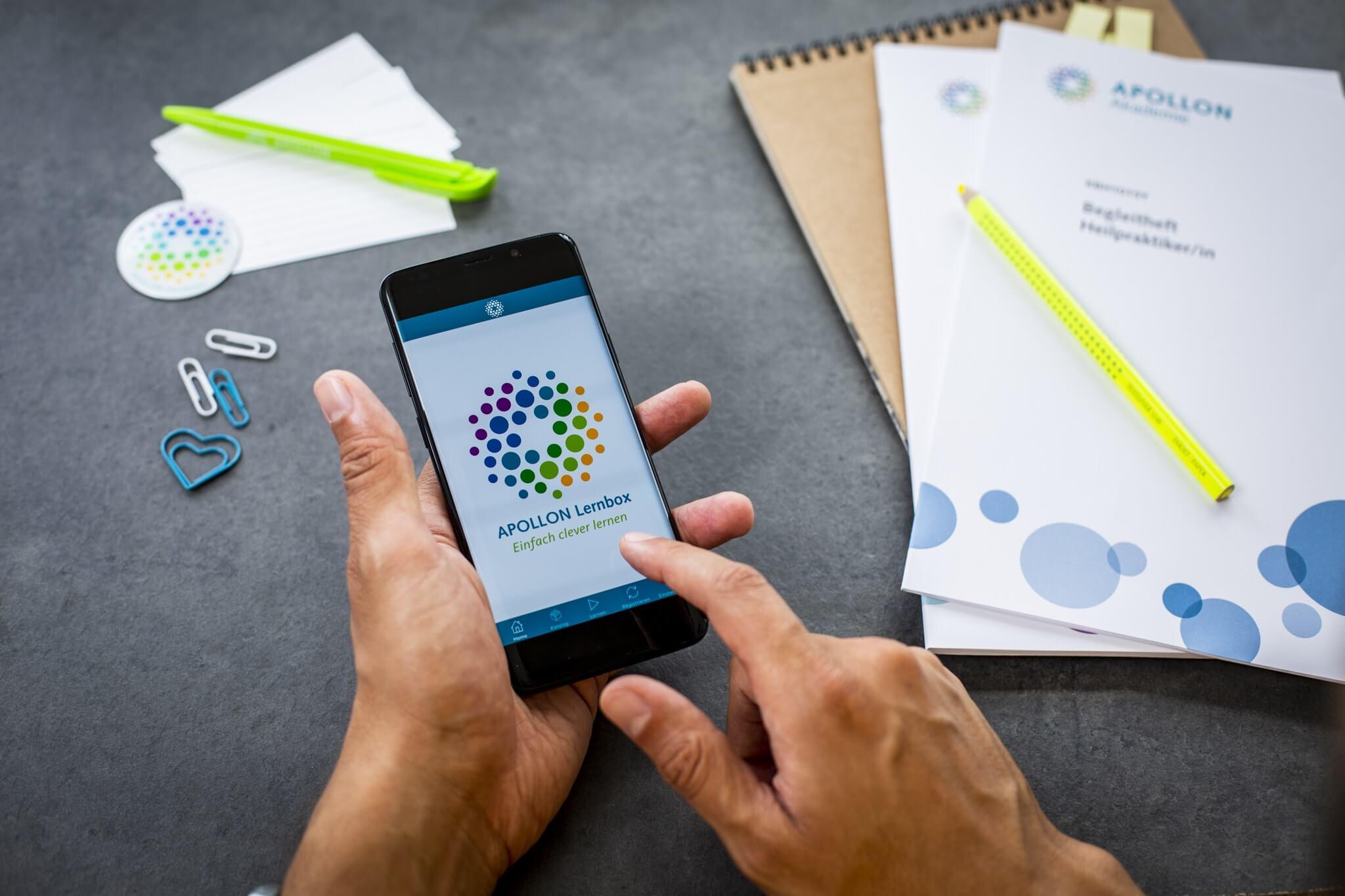 APOLLON Lernbox: Online einfach mit Karteikarten lernen
